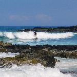 The Surf Breaks Close To Shore - Perfect For Surfing!