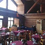 Salle à manger du restaurant