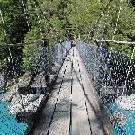 On the swingbridge