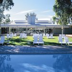 Desert Gardens Hotel poolside