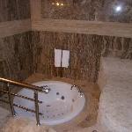 Gorgeous bathroom with spa