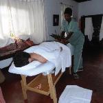 well earned massage...!
