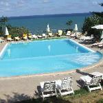 piscina dell'albergo