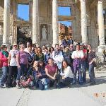 Turkey Ephesus Group Photo 2