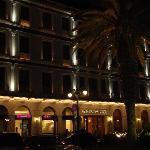 Front Hotel at Night