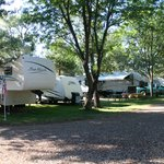 RV Spaces, Shade Trees & Green Grass