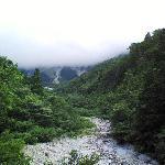賽の河原 上が大山