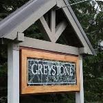 Sign for Greystone Lodge