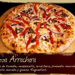Pizza de Arrachera