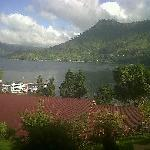 The Lake Toba and The hotel...