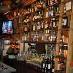 "Large bar selection w/52"" LCD TV's"
