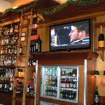 A great bar area to view your favorite sporting event