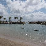 Resort lagoon