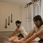 Treatment in one of the double rooms