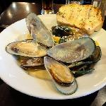NZ green lip mussels A-