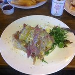 Open beef sandwich - massive and a bargain lunch option!