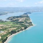 Kina Peninsula arial view