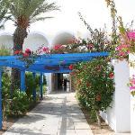 couloir de l hotel yasmine