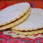 Alfajores de Maicena // Cornstarch cookies