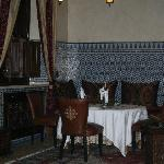 Authentic Moroccan dining