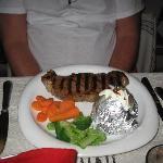 Steak special - $16.00