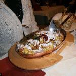 """""""kaiser smarren"""" piatto tipico tirolese"""