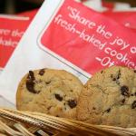 Enjoy our fresh baked cookies every evening!