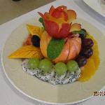 A Most Elegant Fruit Salad