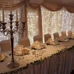 Our Function room is available for larger functions and weddings