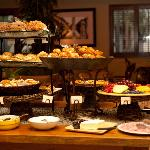 Complimentary Champagne Breakfast Buffet