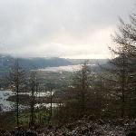 Derwent water and Bassenthwaite in the snow