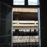 Vue de la fenêtre de la chambre...