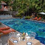 Graycliff's hand-painted pool