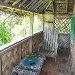 Veranda on Bungalow