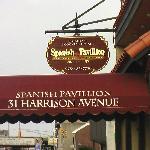 Spanish Pavillion entrance