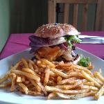 Great hamburger, less than $10