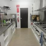 Barossa Backpackers' kitchen