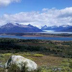 View of the Lago Roca and Perito Moreno Glaciar