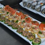 Canapes for catering
