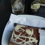 Malteser slice and cola