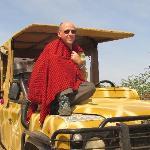 ..sulla jeep giraffata