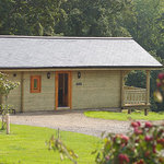 Honeysuckle Deluxe Lodge in Yorkshire Dales