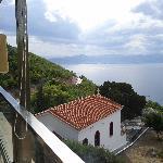 Corinthian gulf view, from restaurant's veranda