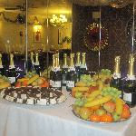 part of our 'nine course Christmas Dinner!;