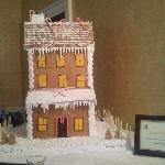 Gingerbread House in the Drawing Room