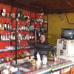 Leandro at the bar