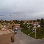 View from my room back over Ouarzazate