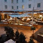 The restaurant/bar area