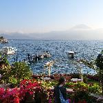 Lake Atitlan, Partial shot of the gardens