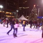 ice skating at fountain square